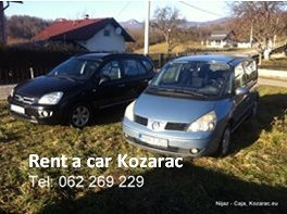Rent a car Kozarac